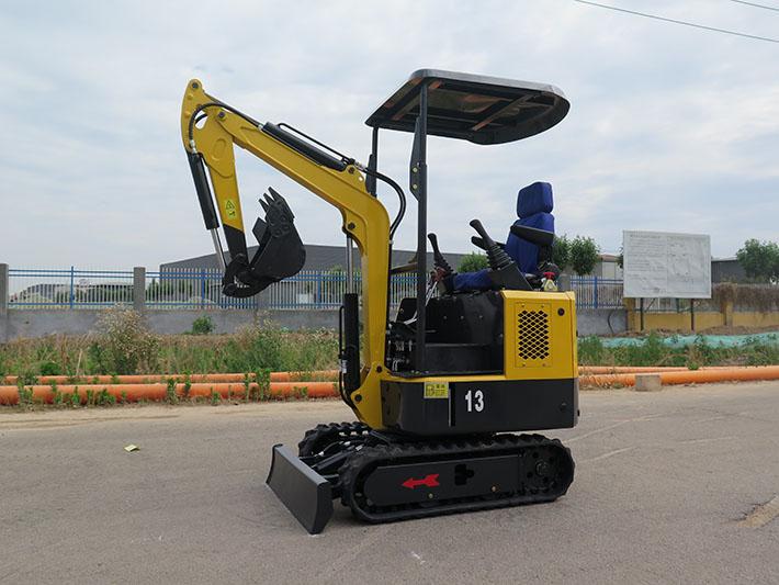 HFT13A小/微型挖掘机案例